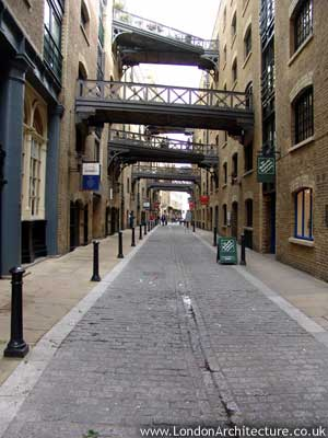Warehouses in London, England
