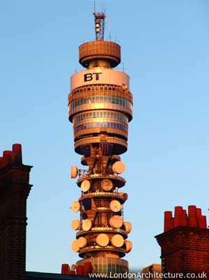 BT Tower in London, England
