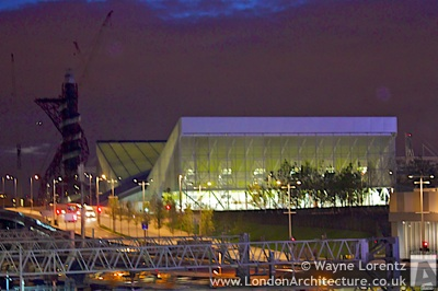 2012 Olympics Aquatic Centre in London, England