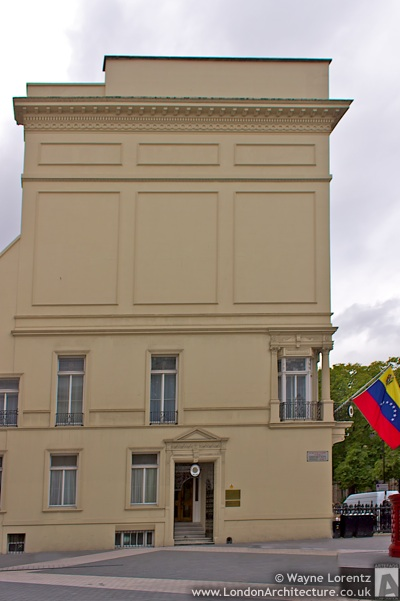 Embassy of Venezuela in London, England
