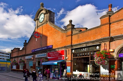 Hammersmith Station - Hammersmith & City and Circle Lines in London, England