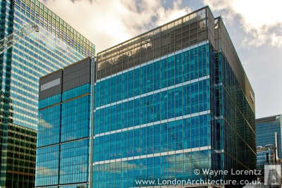 15 Canada Square in London, England