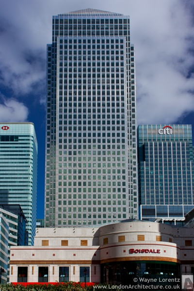1 Canada Square in London, England