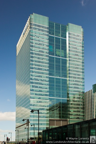 1 Churchill Place in London, England