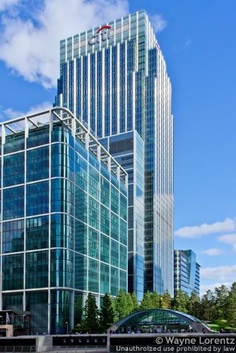 25 Canada Square in London, England