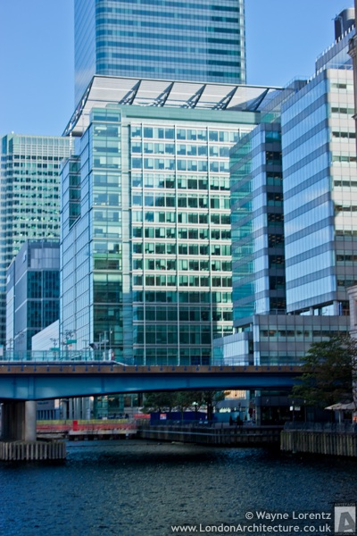 5 Canada Square in London, England