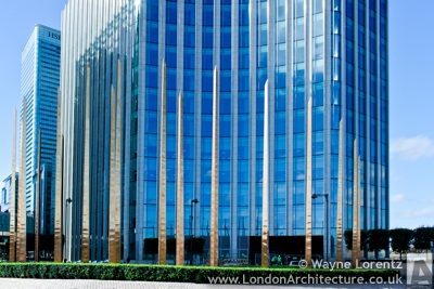 5 Churchill Place in London, England