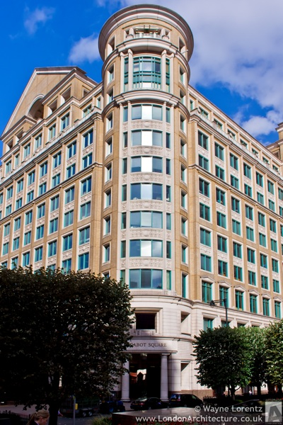 10 Cabot Square in London, England