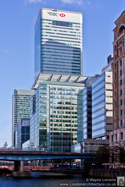 8 Canada Square in London, England