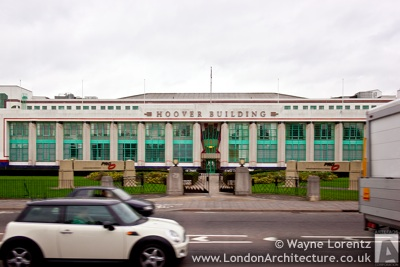 The Hoover Building in London, England