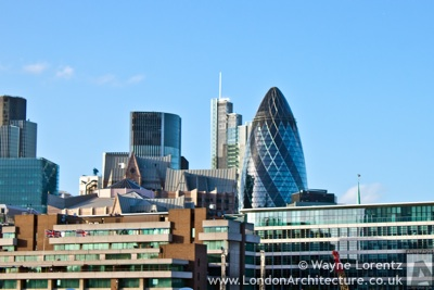 Photograph of 30 St. Mary Axe