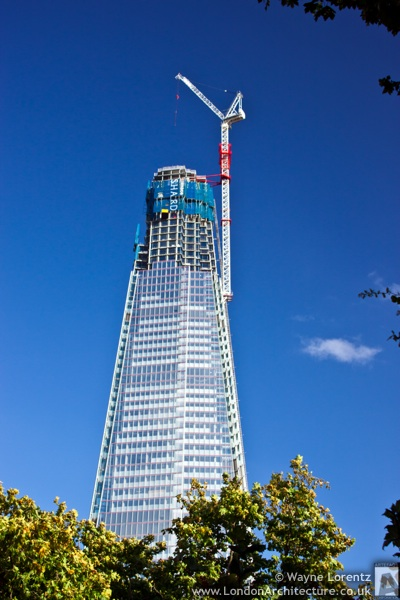 Photo of The Shard in London, England