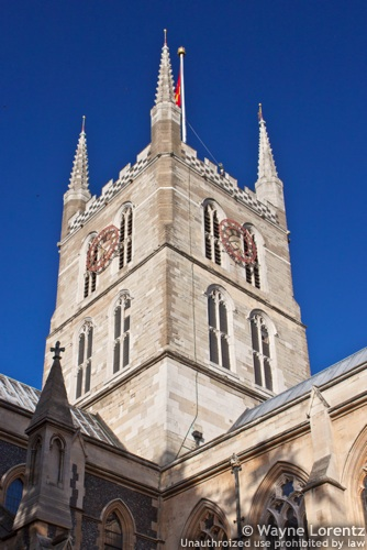 Photo of Southwark Cathedral in London, England
