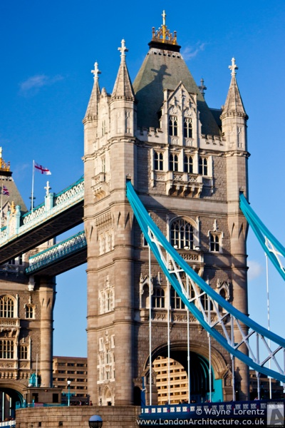 Photo of Tower Bridge in London, England