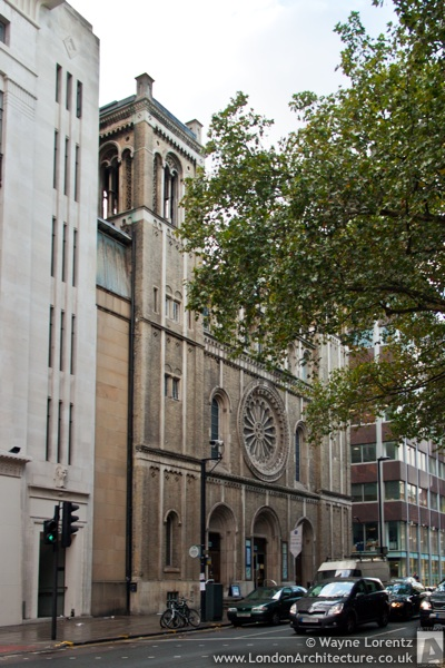 Bloomsbury Central Baptist Church in London, England