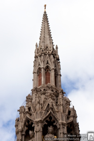 Eleanor Cross at Charing Cross in London, England