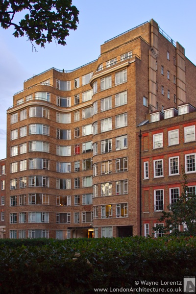 Florin Court in London, England