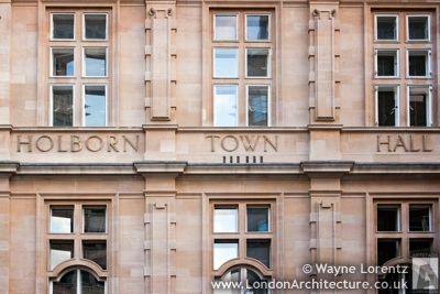 Photo of Holborn Town Hall in London, England