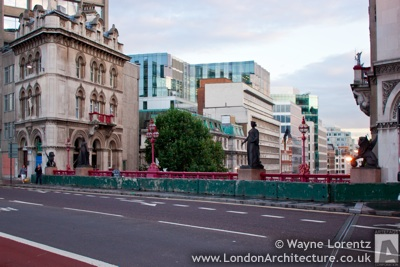 Holborn Viaduct in London, England