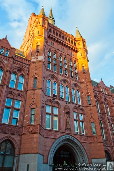 Prudential Assurance Building in London, England