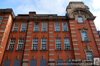 Royal Mail Paddington Sorting Office in London, England
