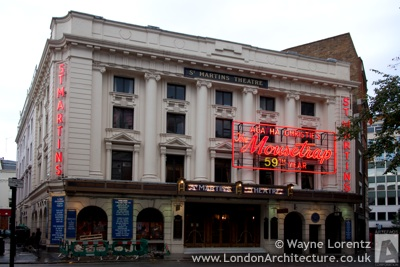 Photo of Saint Martin's Theatre in London, England
