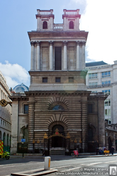 Saint Mary Woolnoth in London, England