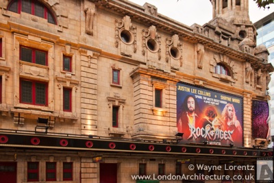 Shaftesbury Theatre in London, England
