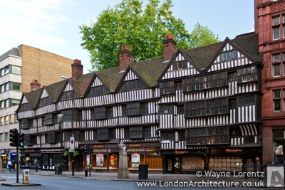 Photograph of Staple Inn Buildings