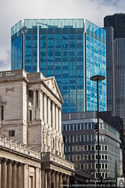 Stock Exchange Tower in London, England