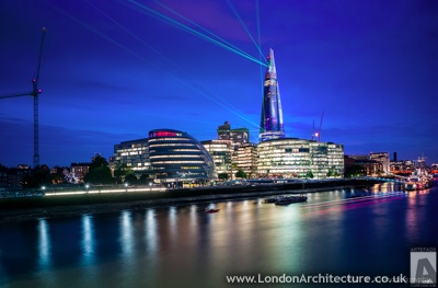 The Shard in London.  Photo by James Attree