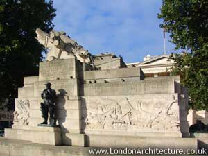 Royal Artillery Memorial in London, England