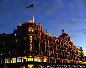 Harrods in London, England