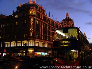 Photo of Harrods in London, England