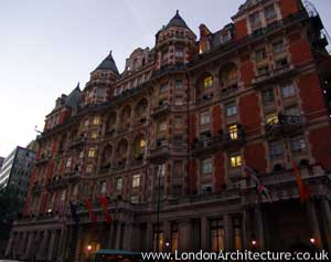 Mandarin Oriental Hotel Hyde Park in London, England