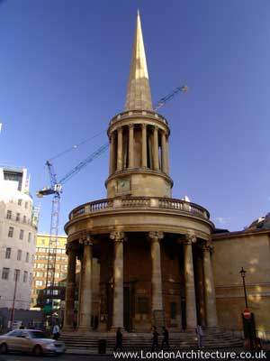 Photo of All Souls Church in London, England