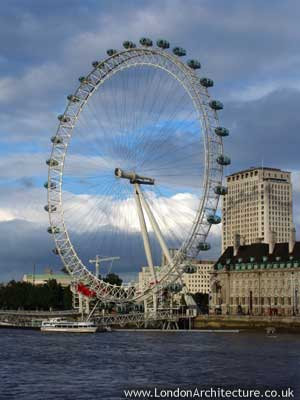 The London Eye in London, England