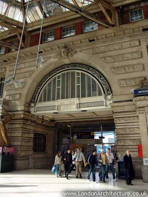 Waterloo Station in London, England