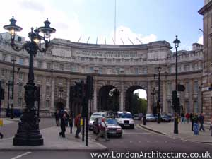 Admirality Arch in London, England