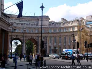 Photo of Admirality Arch in London, England