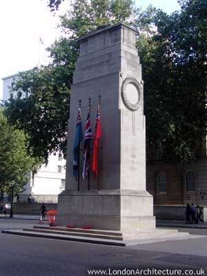 The Cenotaph in London, England