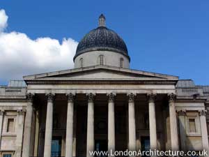 Photo of National Gallery in London, England