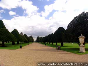 Stock photo of Hampton Court Palace, Surrey