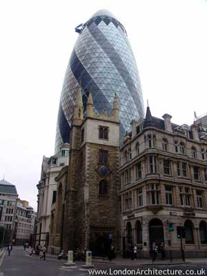 Saint Andrew Undershaft in London, England