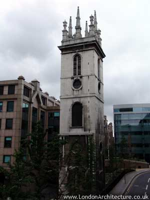 Saint Mary Somerset in London, England