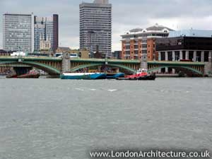 Southwark Bridge in London, England