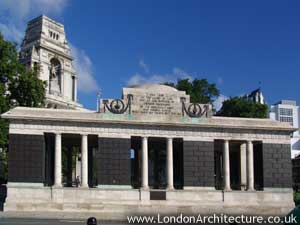 Tower Hill Memorial in London, England
