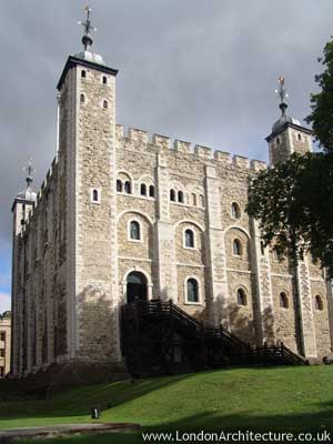 White Tower in London, England