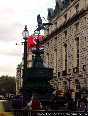 Eros Statue in London, England