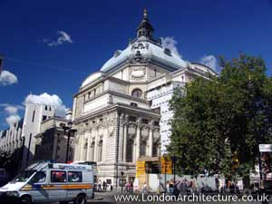 Methodist Central Hall in London, England